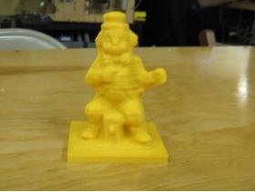 3D扫描的小丑